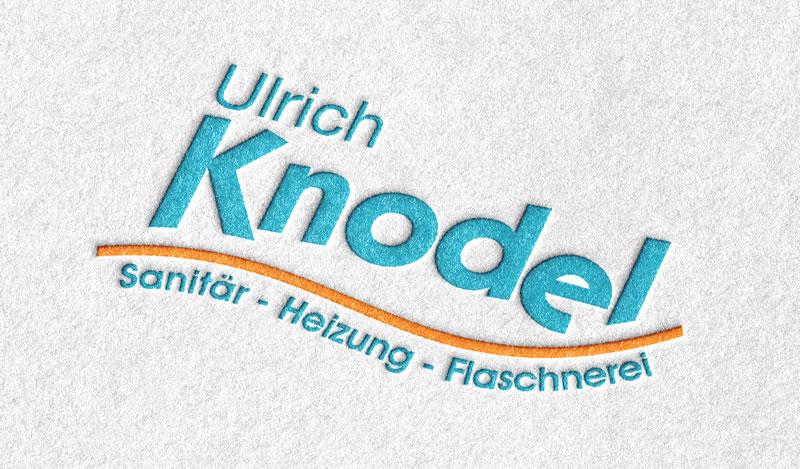 Grafikdesign für Knodel Sanitär-Heizung-Flaschnerei