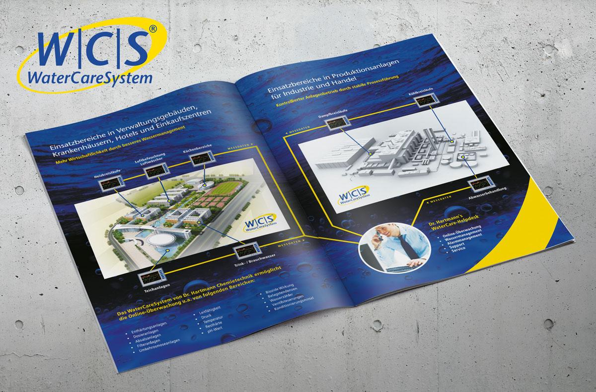 Grafikdesign für Dr. Hartmann Chemietechnik